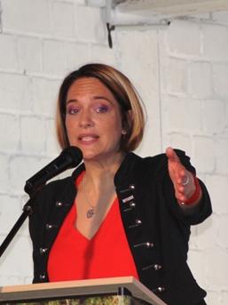 Engagiert sich gesellschaftspolitisch: Jennifer Schug